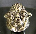 Bild von Bronze Ring Star Wars Yoda Jedi Meister Krieg der Sterne